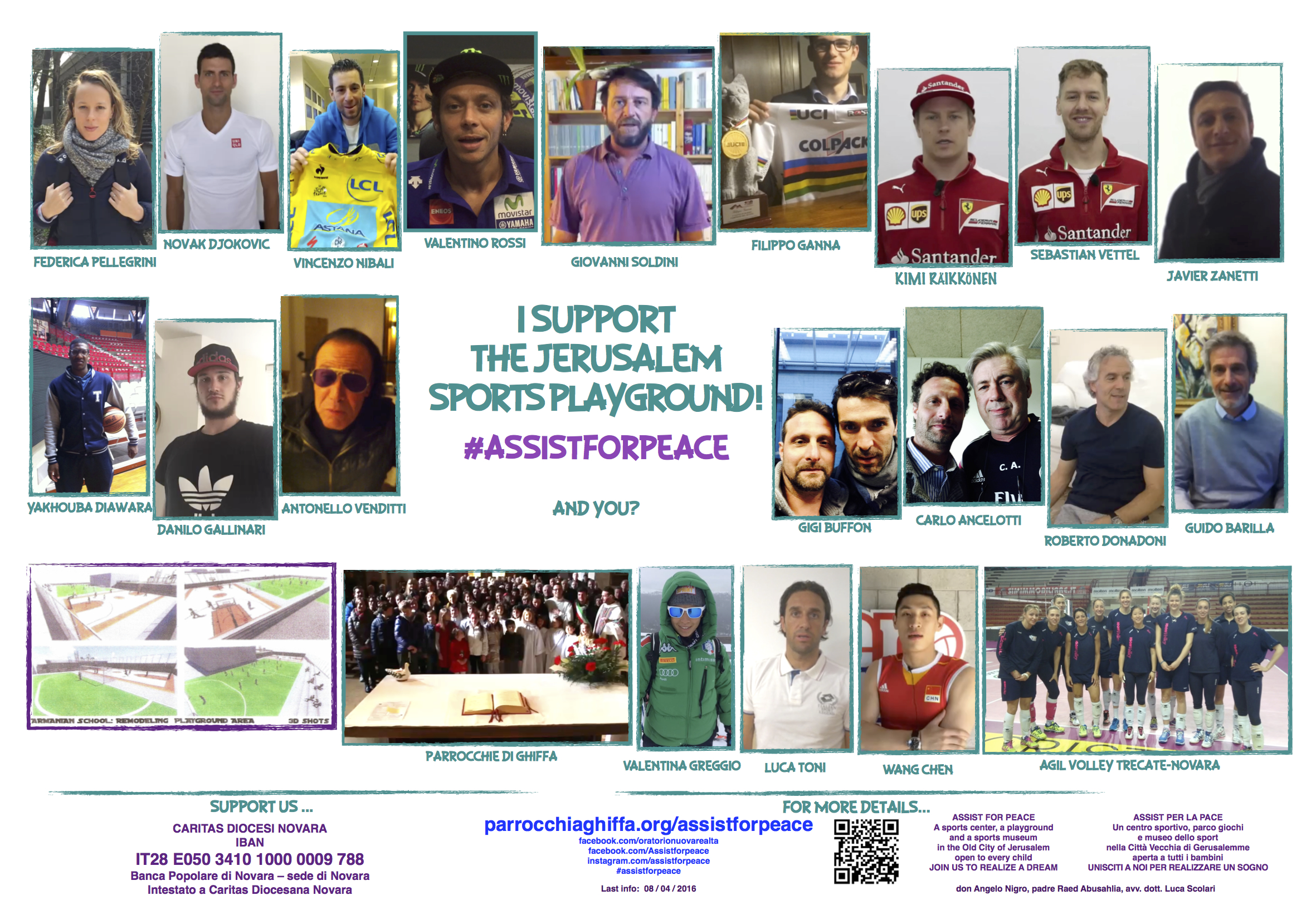 ASSISTFORPEACE - SUPPORTERS